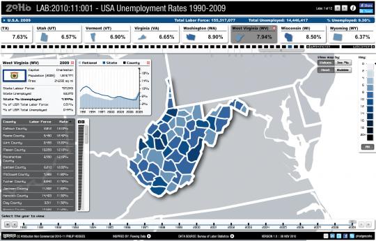 2010:11:001 – USA Unemployment
